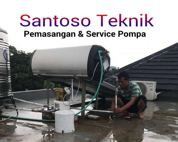 Jasa service pompa air Gelora