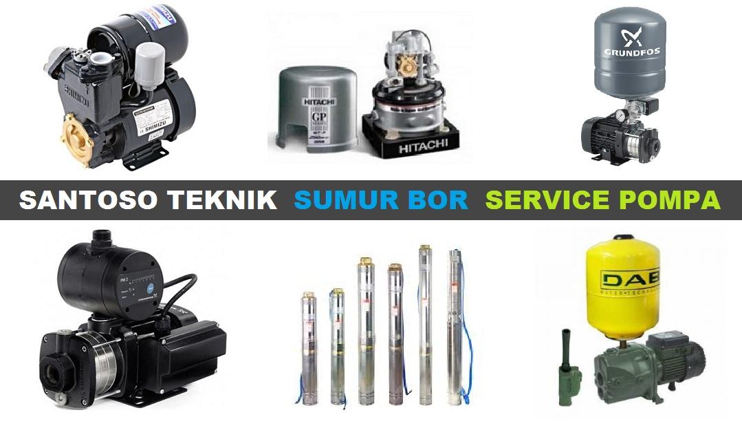 Jasa Sumur Bor & Service Pompa