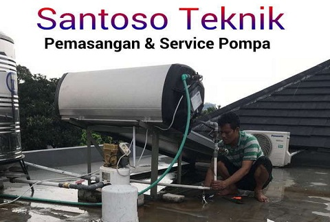 Service Pompa Air Cinangka