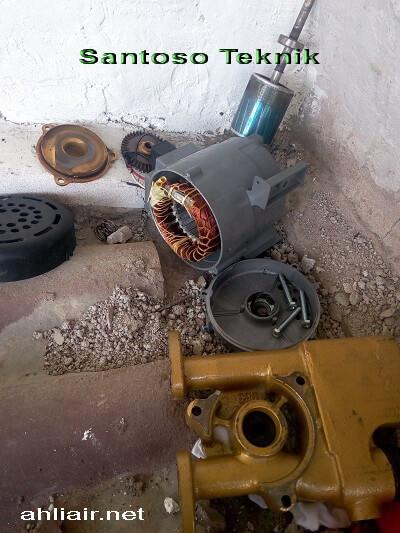 Service pompa air Kebagusan